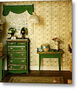 Miniature Hat Room Metal Print