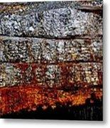 Mining Metal Print