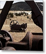 Mining Equipment Metal Print