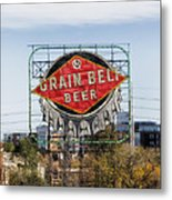 Minneapolis Brew Metal Print