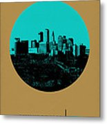 Minneapolis Circle Poster 1 Metal Print