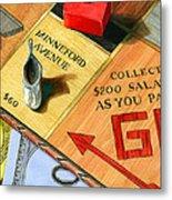 Minneford Monopoly Metal Print