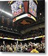 Minnesota Fans Celebrate Victory At Williams Arena Metal Print