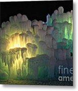 Minnesota Ice Castle 2013 Metal Print