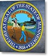 Minnesota State Seal Metal Print