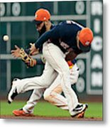 Minnesota Twins v Houston Astros Metal Print