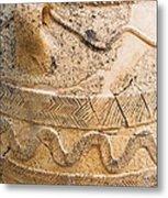 Minoan Jar Metal Print