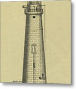 Minot's Ledge Lighthouse Metal Print