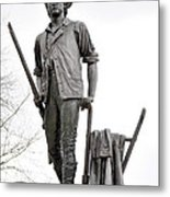 Minute Man Statue Metal Print