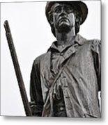 Minute Man Statue Concord Massachusetts Metal Print