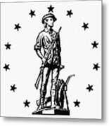 Minuteman Metal Print