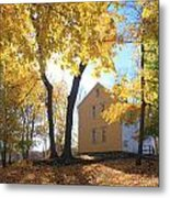 Minuteman National Historic Park Brooks House Metal Print by John Burk