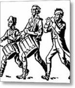 Minutemen: Spirit Of 1776 Metal Print