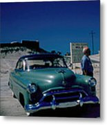 Miracle Mile Oldsmobile Metal Print