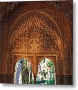 Mirador De Lindaraja La Alhambra Metal Print