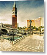Mirage And The Venitian  Metal Print