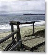 As Summer Ends On Miramar Beach Metal Print