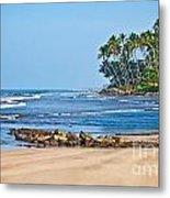 Mirissa Beach Sri Lanka Metal Print