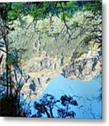 Mirror Lake Three New Zealand Metal Print
