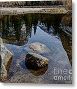 Mirror Lake Threesome 2 Yosemite Metal Print