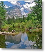 Mirror Lake Yosemite Metal Print