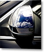 Mirror World Metal Print