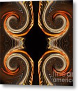 Mirrored Abstract Metal Print