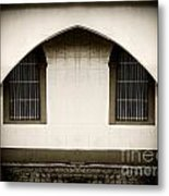 Mirrored Arch Metal Print