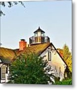 Mispillion Lighthouse - Lewes Delaware Metal Print