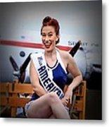 Miss America Metal Print
