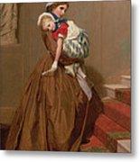 Miss Lilys Return From The Ball, 1866 Metal Print