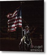 Miss Pro Rodeo Usa Metal Print