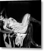 Miss Shapen Chase Metal Print