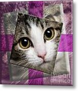 Miss Tilly The Gift 3 Metal Print by Andee Design