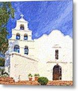 Mission Basilica San Diego De Alcala Usa Metal Print