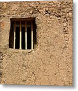 Mission Church Window Metal Print