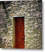 Mission Concepcion - Door Metal Print