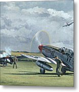 Mission From Debden Metal Print
