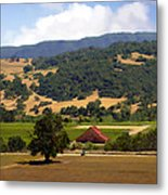 Mission Meadows Solvang California Metal Print