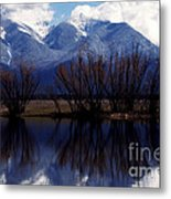 Mission Mountains Mission Valley Metal Print