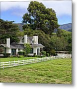 Mission Ranch - Carmel California Metal Print by Glenn McCarthy Art and Photography