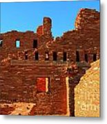 Mission Ruins At Abo Metal Print