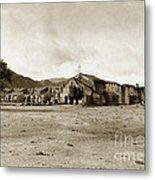 Mission San Antonio De Padua California Circa 1903 Metal Print