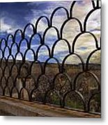 Mission Wall With Insets Metal Print