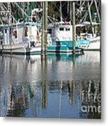 Mississippi Boats Metal Print