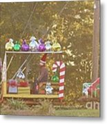 Mississippi Christmas 1 Metal Print