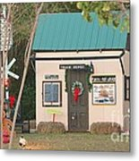 Mississippi Christmas 4 Metal Print