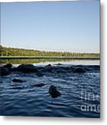Mississippi Headwater And Lake Itasca Metal Print