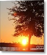 Mississippi Sunset 1 Metal Print