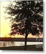 Mississippi Sunset 13 Metal Print